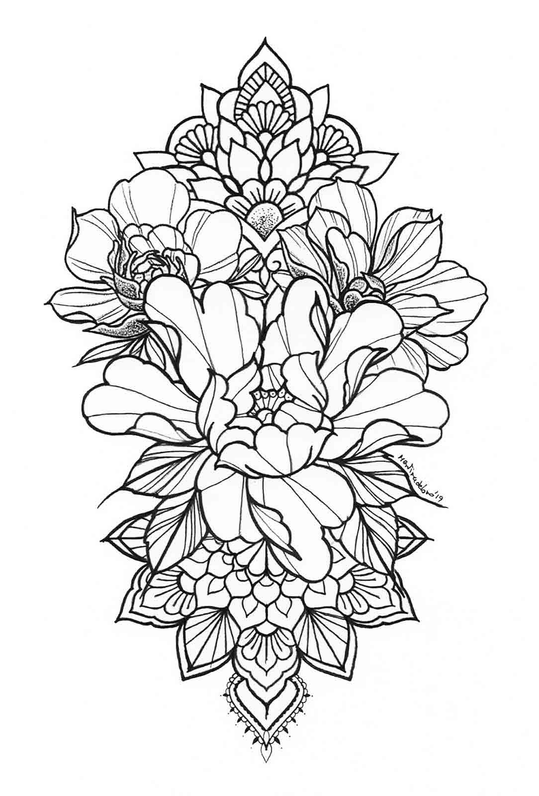 Diseño de tatuajes únicos y personalizados